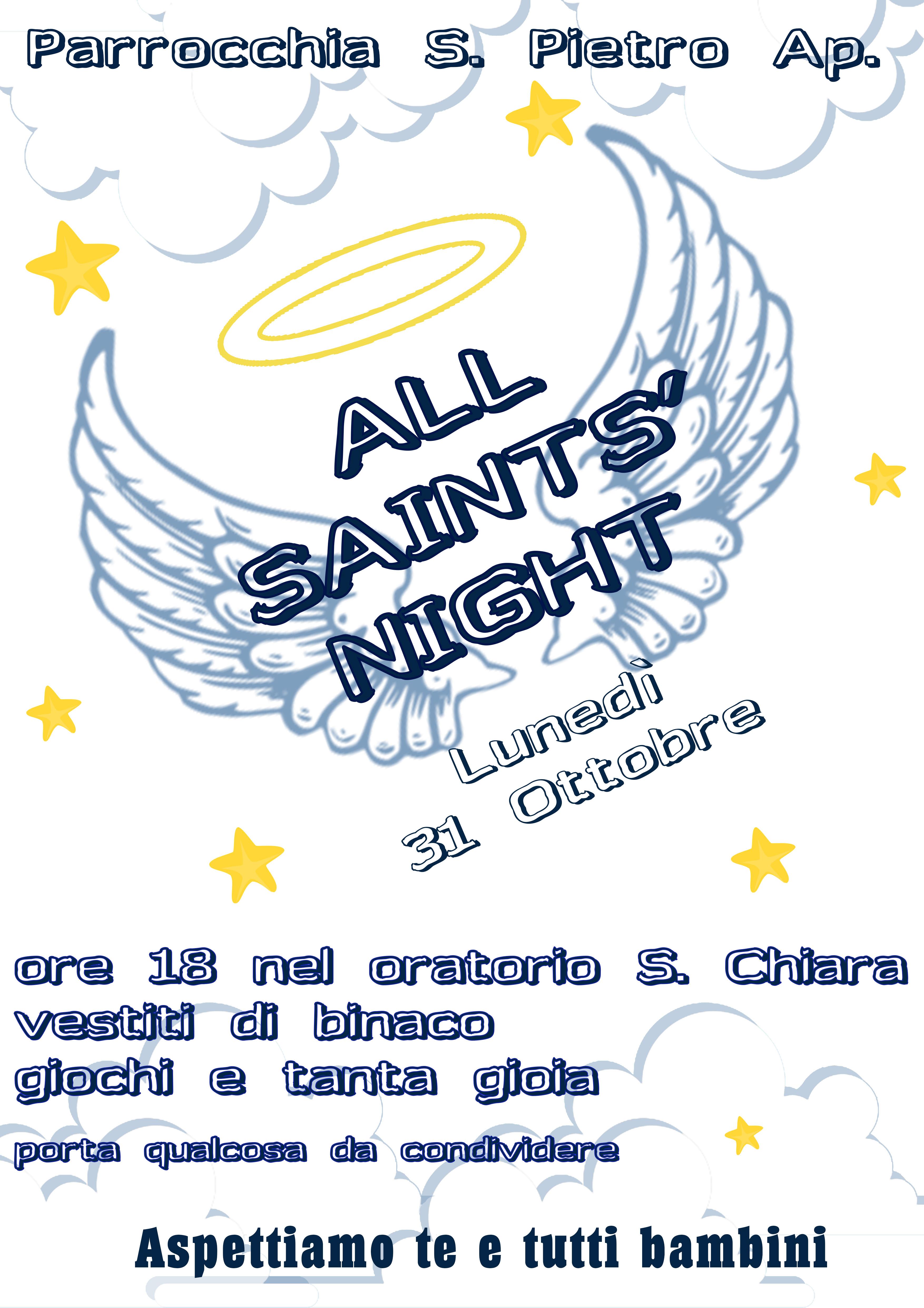 Festa di Tutti Santi.