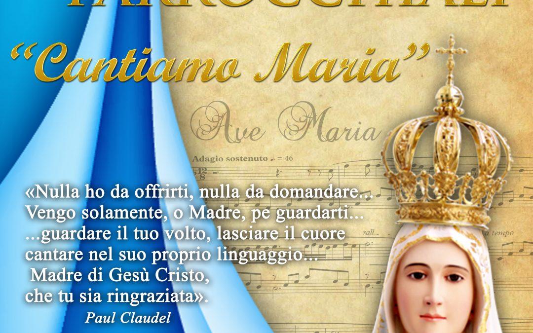 Rassegna dei cori – Cantiamo Maria