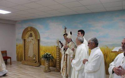 Parrocchia di S. Pietro Apostolo: inaugurazione della cappellina dell'adorazione come «segno» dell'Anno Giubilare della Misericordia