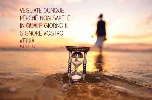 #dalvangelodioggi Mt 24,42-51 (26 agosto 2021)